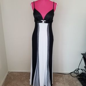 Faviana couture gown